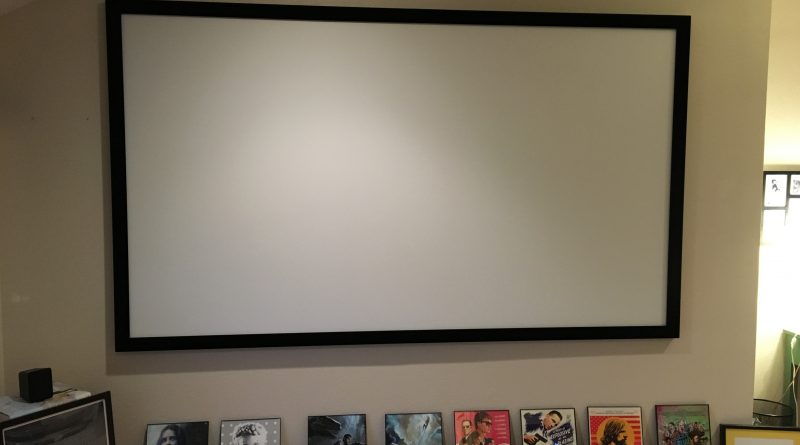 Silver Ticket 120″ Diagonal 16:9 Projector Screen – Review