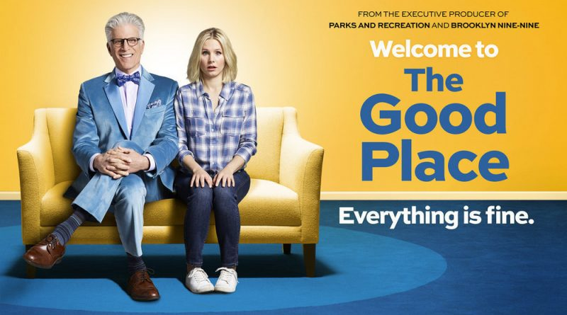 "THE GOOD PLACE -- Pictured: ""The Good Place"" Horizontal Key Art -- (Photo by: NBCUniversal)"